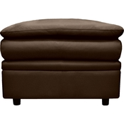 Omnia Leather Uptown Ottoman