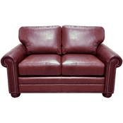 Omnia Leather Savannah Loveseat