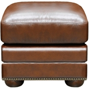 Omnia Leather Savannah Ottoman