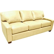 Omnia Italian Leather Albany Sofa