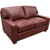Omnia Leather Albany Loveseat