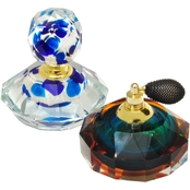 Dale Tiffany Columbia Perfume Bottle 2 pc. Set