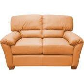 Omnia Leather Cedar Heights Loveseat