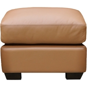 Omnia Leather Cedar Heights Ottoman