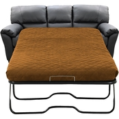 Omnia Leather Cedar Heights Full Sofa Sleeper