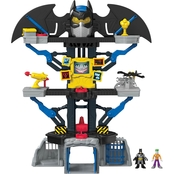 Fisher Price Imaginext DC Super Friends Transforming Batcave Playset
