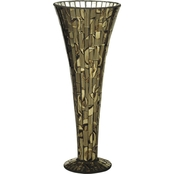 Dale Tiffany Small Mosaic Vase