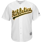 Majestic MLB Oakland Athletics Replica Home Jersey