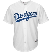 Majestic MLB Los Angeles Dodgers Men's Replica Home Jersey