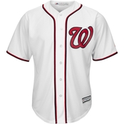Majestic International MLB Washington Nationals Home Replica Jersey