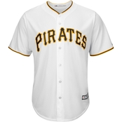 Majestic MLB Pittsburgh Pirates Home Replica Jersey