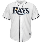 Majestic MLB Tampa Bay Rays Men's Replica Home Jersey