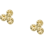 Fossil Stainless Steel Glitz Dot Stud Earrings