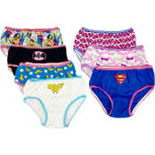 DC Comics Little Girls Justice League Panties 7 Pk.
