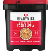 Wise Emergency Food Entree and Breakfast Package, 84 Servings