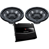 Kenwood 10 in. Bass Party Pack