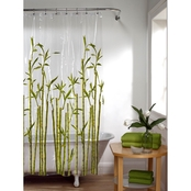 Maytex Photo Real Vinyl Shower Curtain