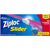 Ziploc Slider Storage Bags Gallon