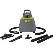 Koblenz Wet/Dry Vacuum Cleaner with 9 gal. Tank