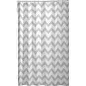 Maytex Chevron Fabric Shower Curtain