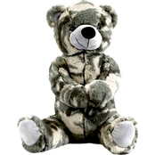Bear Forces of America 11 in. Bear Green Camo