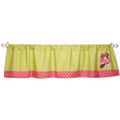 Disney Minnie's Petal Perfect Appliqued Window Valance