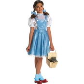 Rubie's Costume Co. Girls Deluxe Sequin Dorothy Costume
