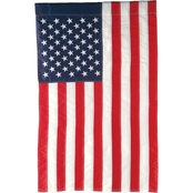 Evergreen American Flag