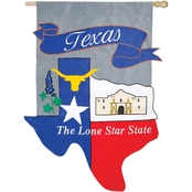 Evergreen Texas Flag