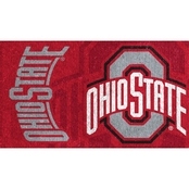 Evergreen Ohio State Welcome Mat