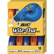 BIC Wite Out EZ Correct Correction Tape 10 Pk.