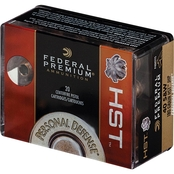 Federal Premium Personal Defense .380 ACP 99 Gr HST Hollow Point, 20 Rounds