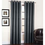 Sun Zero Gramercy Grommet Room Darkening Curtain Panel