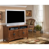Ashley Cross Island 50 in. TV Stand