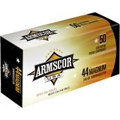 Armscor .44 Mag 240 Gr. Semiwadcutter, 50 Rounds