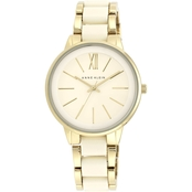 Anne Klein Women's Goldtone and Resin Bracelet Watch AK/1412I
