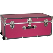Mercury Luggage Seward Trunk 30 in. Wheeled Footlocker