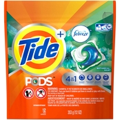 Tide Pods Plus Febreze Botanical Rain Laundry Detergent Pacs