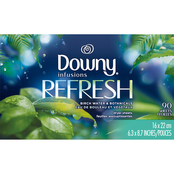 Downy Infusions Botanical Mist Dryer Fabric Softener Sheets 90 Pk.