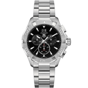 Tag Heuer Men's Aquaracer Quartz Big Date Chronograph 43mm CAY1110BA0925