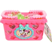Disney Minnie Mouse Bowtastic Shopping Basket Set