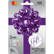 Vanilla MasterCard Party Bow Gift Card