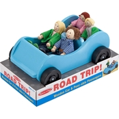 Melissa & Doug Road Trip! Wooden Car and Poseable Passengers