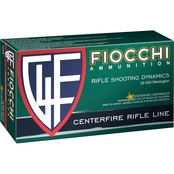 Fiocchi .22-250 55 Gr. Pointed Soft Point, 20 Rounds