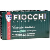 Fiocchi .308 Win 175 Gr. Hollow Point Boat Tail Match King, 20 Rounds