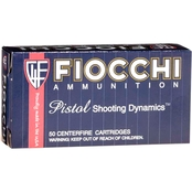 Fiocchi .357 Mag 158 Gr. Copper Metal Jacket, 50 Rounds