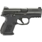 FN FNS-9C 9MM 3.6 in. Barrel 17 Rds Pistol Black with Thumb Safety