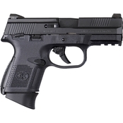 FN FNS-9C 9MM 3.6 in. Barrel 17 Rds NS Pistol Black with Thumb Safety