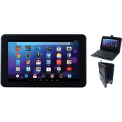 Craig Electronics 9 in. Quad Core Touch Screen Tablet with Keyboard and Case