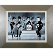 Beatles Character 30 x 36 Wall Art